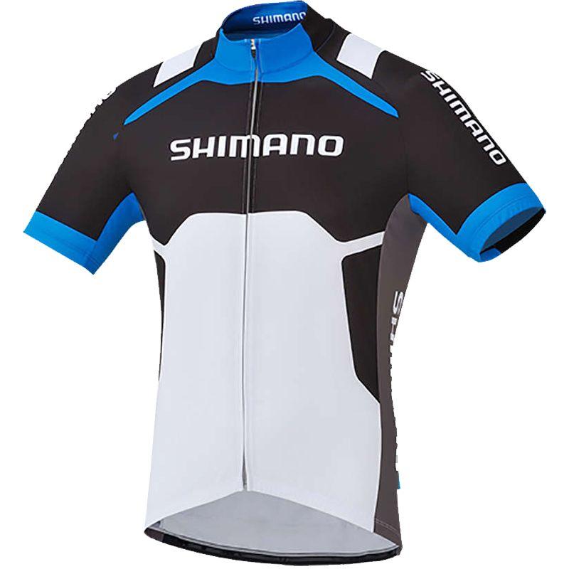 d47e95b87d264 Camisa Shimano Print Short Sleeve Jersey MS11M na Via Expressa Bike