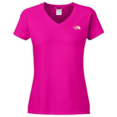 Camiseta The North Face Reaxion AMP Gola V Feminina