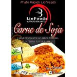 Refeição LioFoods Carne de Soja ao Sugo, Arroz Integral, Lentilhas e Purê de Batatas