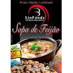 Refeição LioFoods Sopa de Feijão com Macarrão