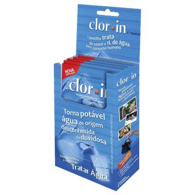 Clorin 1 - Caixa c/ 6 Cartelas c/ 10 Pastilhas