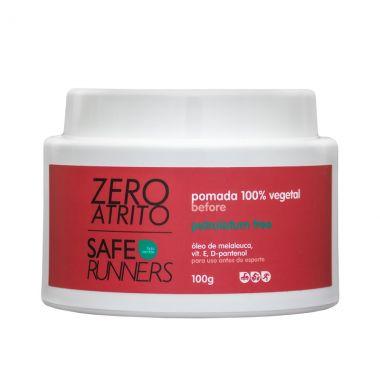 Pomada Protetora 100% Vegetal Zero Atrito 100g - Safe Runners