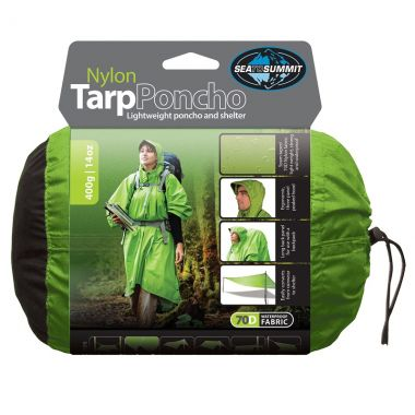 Poncho Sea to Summit Nylon Tarp